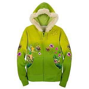 Faux-Fur Hoodie Tinker Bell Jacket