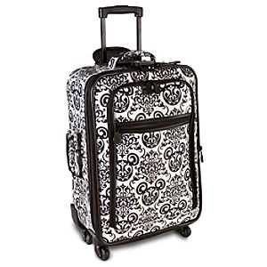 Rolling Black & White Mickey Mouse Luggage -- 22
