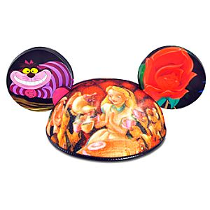 Limited Release Alice in Wonderland Ear Hat for Adults