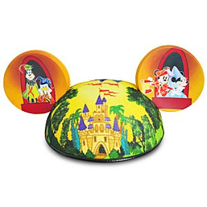 Limited Edition Castle Mickey Mouse Ear Hat for Adults