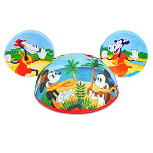Limited Release Hula Mickey Mouse Ear Hat for Adults