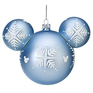 Snowflake Mickey Mouse Ornament