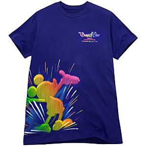 Opening Season 2010 World of Color Tee for Adults