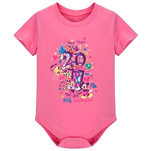 Walt Disney World 2011 Mickey Mouse Bodysuit for Baby Girls