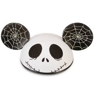 Personalized Jack Skellington Mickey Mouse Ear Hat