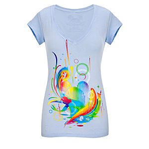 Fitted V-Neck Opening Season 2010 World of Color Tee for Women