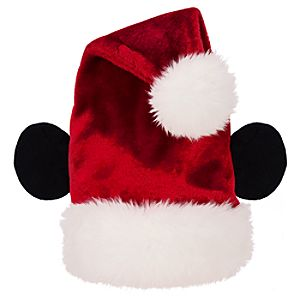 Adult Mickey Mouse Ears Santa Hat