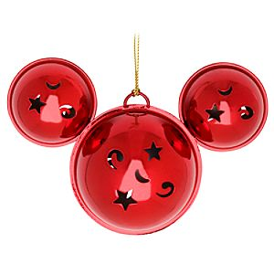 Jingle Bells Mickey Mouse Ornament