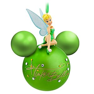 Figurine On Ball Tinker Bell Ornament