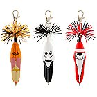 Products>Home & Decor>Stationery>Autograph Books & Pens> - Kooky™ Jack Skellington Pen Set -- 3-Pack: Sizes