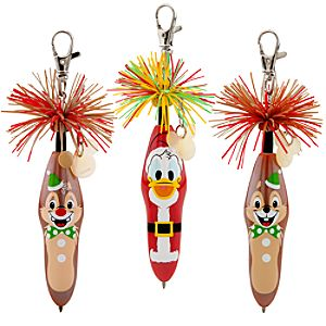Kooky™ Scented Christmas Pen Set # 2 -- 3-Pack