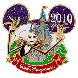 Cinderella Castle Collection Jack Skellington Pin