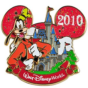 Cinderella Castle Collection Goofy Pin