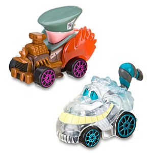 Disney Racers Mad Hatter & Cheshire Cat Die Cast Car Set -- 2-Pc.