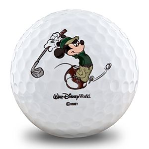 Mickey Mouse Golf Balls by Pinnacle® -- 3-Pk.