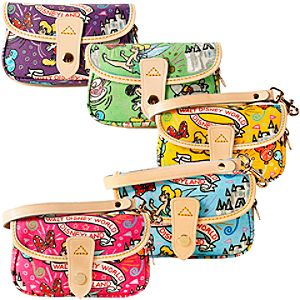 Disney Sketch Wristlet Bag by Dooney & Bourke