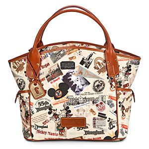 Disneyland 55th Anniversary Tote Bag by Dooney & Bourke -- Medium
