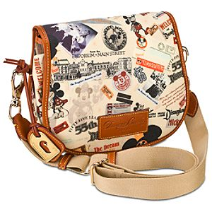 Disneyland 55th Anniversary Messenger Bag by Dooney & Bourke -- Small