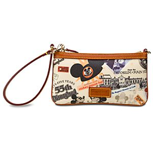 Disneyland 55th Anniversary Wristlet by Dooney & Bourke
