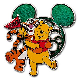 Character Ears Collection Pooh and Tigger Pin