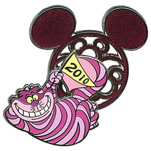 Character Ears Collection Cheshire Cat Pin