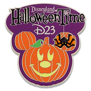 D23 Membership Exclusive Limited Edition 2010 Halloween Pin