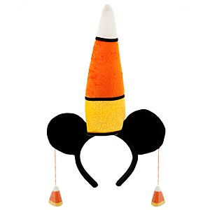 Candy Corn Minnie Mouse Ears Headband