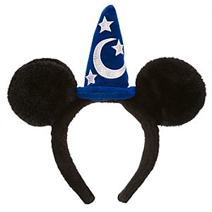 Sorcerer Mickey Mouse Ears Kids Headband