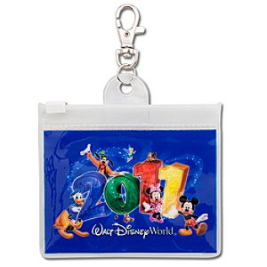 2011 Walt Disney World Resort Lanyard Pouch
