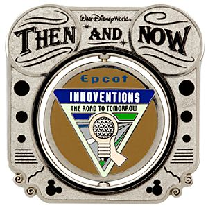 Then and Now Attractions Communicore Pin