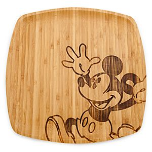 Bamboo Mickey Mouse Platter