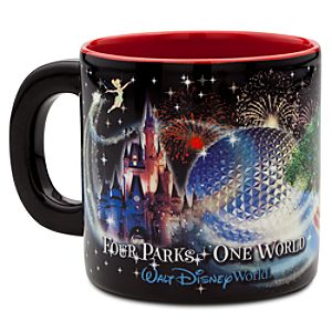 Four Parks Walt Disney World Resort Mug