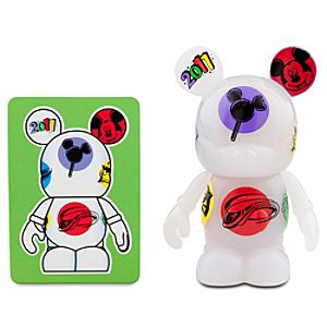 Vinylmation 2011 Series 3 Figure -- White Tossed