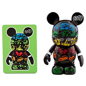 Vinylmation 2011 Series 3 Figure -- Black Tossed