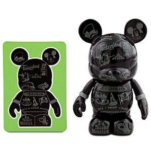 Vinylmation 2011 Series 3 Figure -- Black Silver
