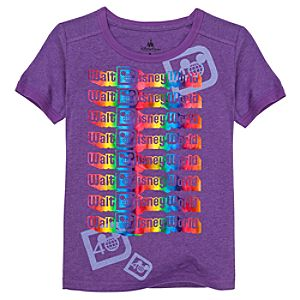 Foil D-40 Walt Disney World Tee for Girls