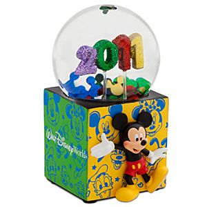 2011 Walt Disney World Resort Mini Snowglobe