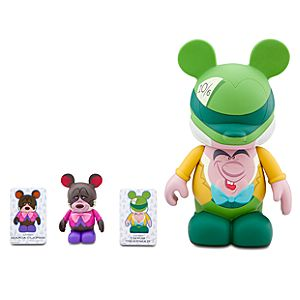 Vinylmation Park 5 Series Figures: Mad Hatter and Dormouse -- 2-Pc. Set
