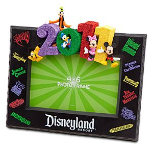 2011 Disneyland Resort Attractions Frame -- 4 x 6