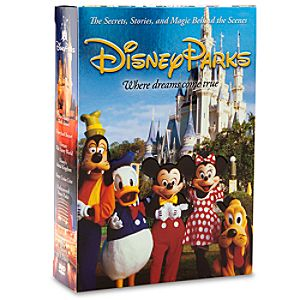 Disney Parks Where Dreams Come True 6-Disc DVD Set