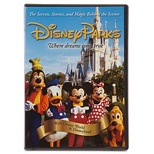 Disney Parks Where Dreams Come True DVD