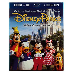 2-Disc Disney Parks Where Dreams Come True Blu-ray + DVD Plus Digital Copy*