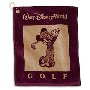 5 Courses with Mickey Golf Towel