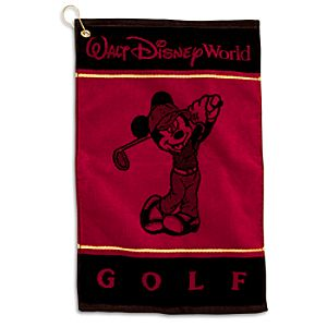 Mickey Mouse Golf Towel