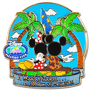 2011 Disney Vacation Club Spinner Pin