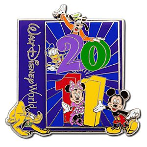 2011 Walt Disney World Resort Mickey Mouse and Friends Pin