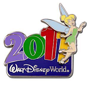2011 Walt Disney World Resort Tinker Bell Pin