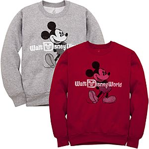Mickey Mouse Walt Disney World Resort Sweatshirt