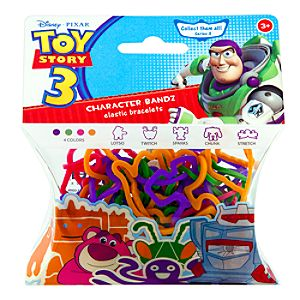 Toy Story 3 Bandz Elastic Bracelets Series 3 -- 20-Pc.