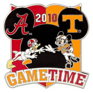 NCAA Rivalry Series Alabama Vs. Tennessee Pin